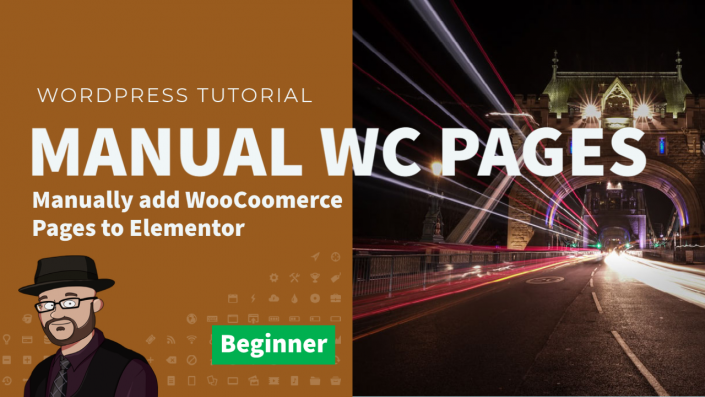 How to add WooCommerce Pages to Elementor in WordPress